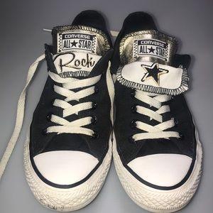 "Converse ""Rock Star"" Double Tongue Shoes"